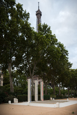 Memorial National de la Guerre d'Algerie, dedicated to soldiers and fighters who lost their lives fighting for France during the war of Algeria and the battles of Morocco and Tunisia