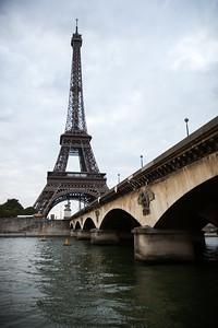 Tour Eiffel and Pont d'Iéna