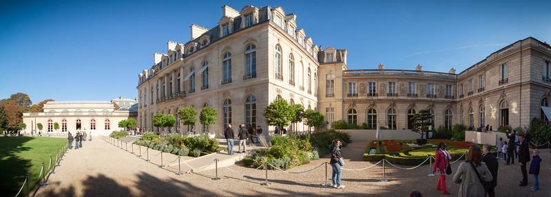 Palais de l'Élysée Panorama (hugin-stitched)