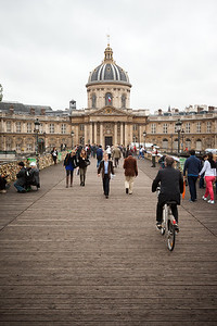 Institut de France from Pont des Arts