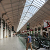 We quickly pass through Gare St Lazare as we change trains