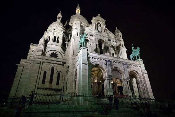 La Basilique du Sacré Coeur in Montmartre