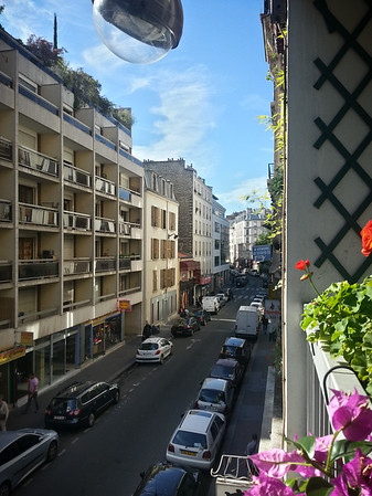 DAY 1 - Morning in Montmartre...view from Danielle's apartment