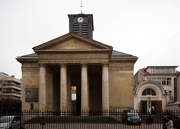 We pass Église Paroisse Saint Pierre du Gros Cailou