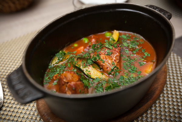 Cocotte du jour...a lamb and vegetable stew.  Delicious and hearty!