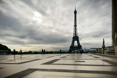 Place du Trocadéro and Tour Eiffel