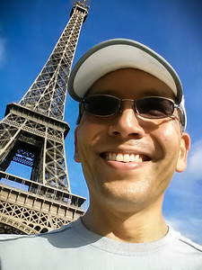 Tour Eiffel Selfie