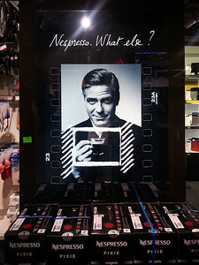 I'm a big fan of Nespresso...apparently so is George Clooney.