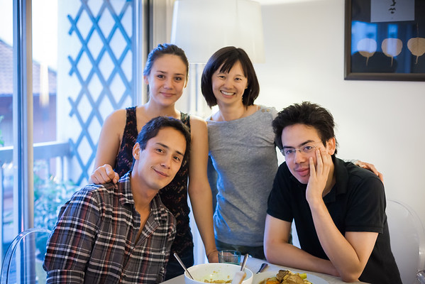 Dimitri, Charline, Valerie, Maximilien