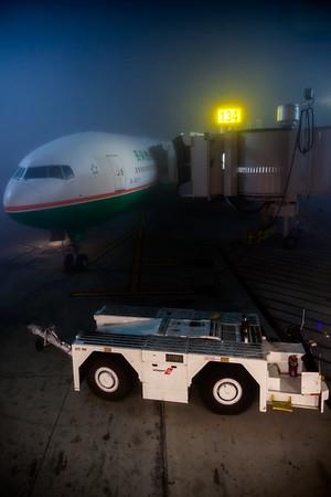 Our first flight awaits...Boeing 777