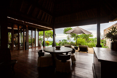 Our final villa combines the best features of our previous villas, but adds a spectacular view of the ocean