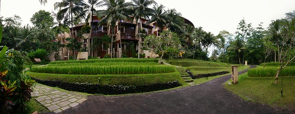 Four Seasons Resort Bali at Sayan Smartphone Panorama