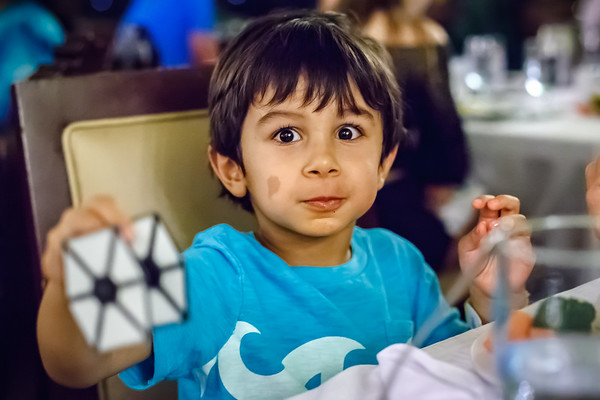 This is Valerie and my first time meeting his son Ranvir...apparently a Star Wars fan.  Mike has obviously done something right while raising him! :)