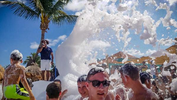 More foam!