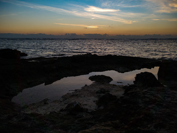 Tidepools at dawn