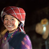 Another smile by a Tibetan woman.<br /> Boulder has a sister city relationship with Llasa, Tibet. A delegation from Boulder and around the world visited Tibet in 1999 to help locals learn about solar energy and how they could use it.<br /> Cliff Grassmick