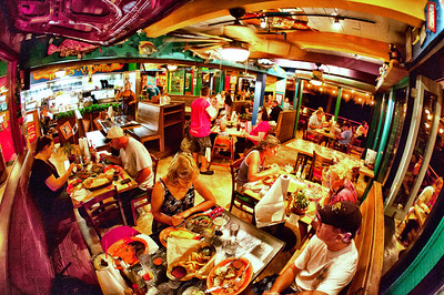 Fred's Restaurant - an interior with a lot of character.