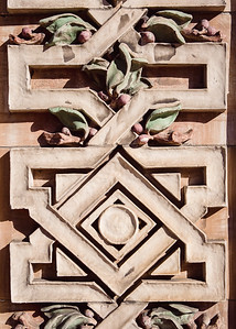 Exterior closeup of Rodef Shalom Congregation