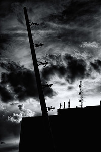 """""""Walking to the Sky"""" in Silhouette"""