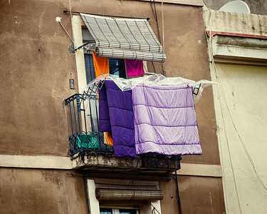 Color Hung Out to Dry