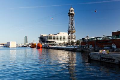 The 'Transbordador Aeri del Port'