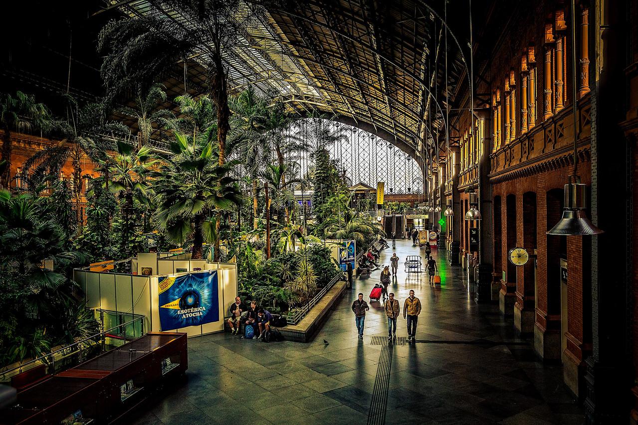 Madrid Train Staition