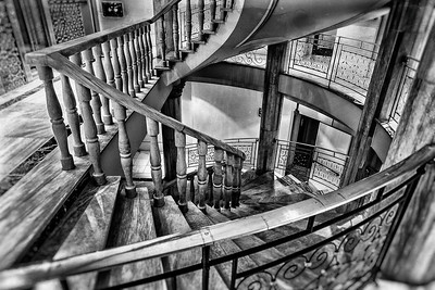 Stairway in Hotel Vincci Via