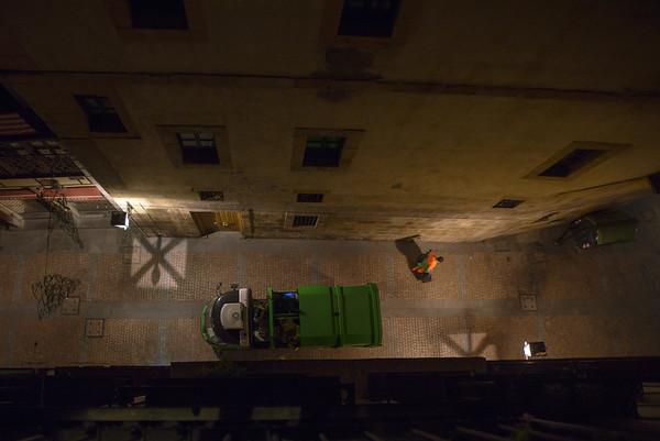 Night shift, Bilbao