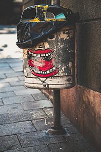 The Garbage Cap Kid