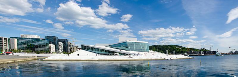 Oslo Opera House. / Operahuset i Oslo.