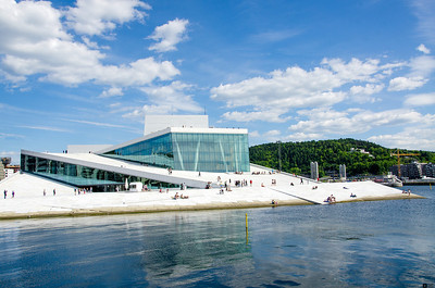 Oslo Opera House / Operahuset i Oslo.