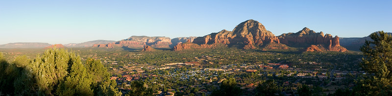 Sunrise over Sedona final