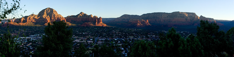 Sunrise over Sedona part two