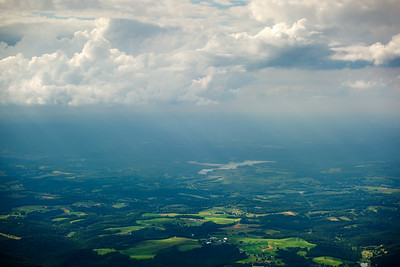 I hope to snap a photo of Midnight Achers from the air, but doubt our flight path will takes us over the farm
