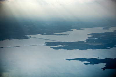 Lewisville Lake, Texas...almost on the ground