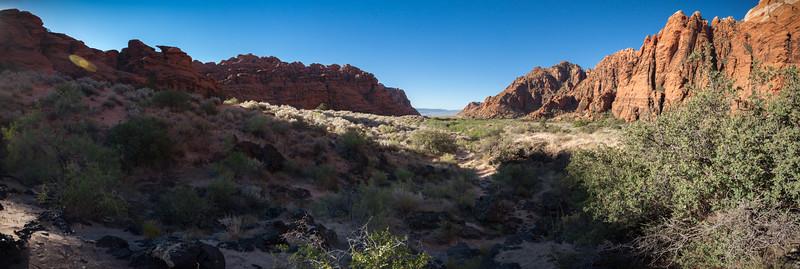 Hidden Pinyon Trail Panorama (hugin auto-stitched)