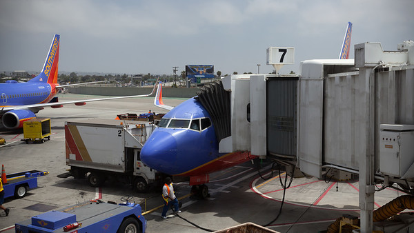 This is my first time flying Southwest