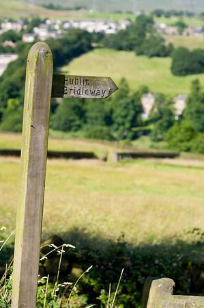 Public Bridleway Sign
