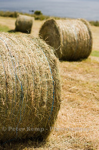 scarborough castle hay bales