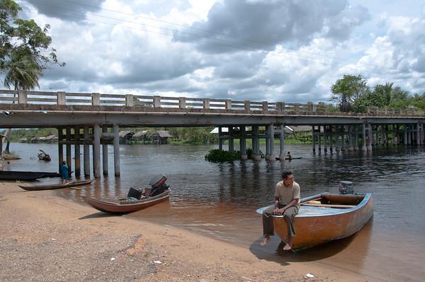 Camino para Puerto Ordaz, Venezuela