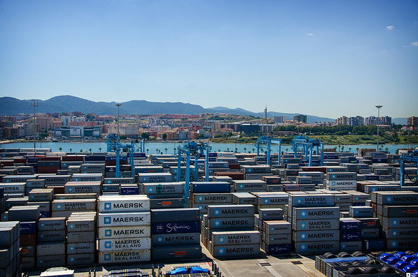 Visiting Algeciras / På besøk i Algeciras
