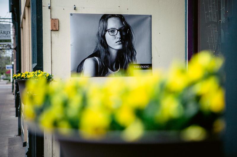 Verawang Poster and Yellow Flowers