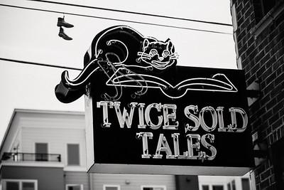 Twice Sold Tales - B&W