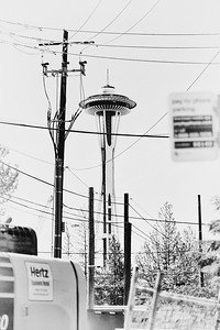 Space Needle and Wires