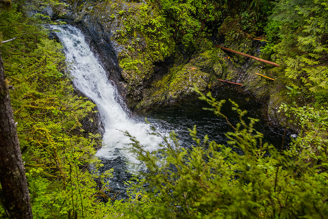 Wallace Falls - Middle