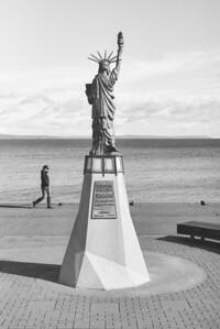 Alki Statue of Liberty