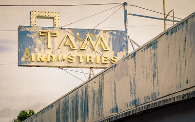 TAM Industries outdoor signage