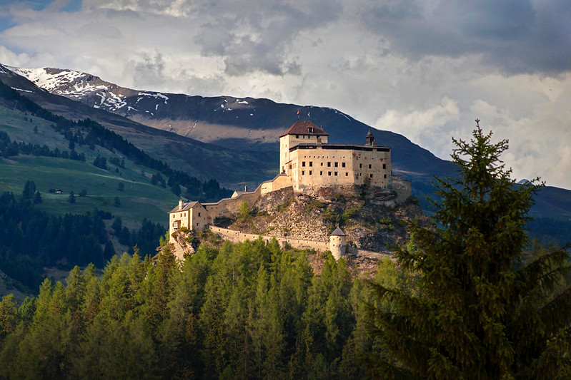 Castle Tarasp, Switzerland