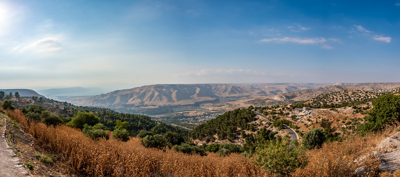 View From Umm Qais Lookout Point