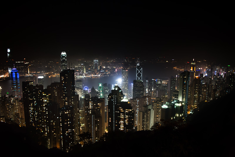Looking Down from Victoria Peak